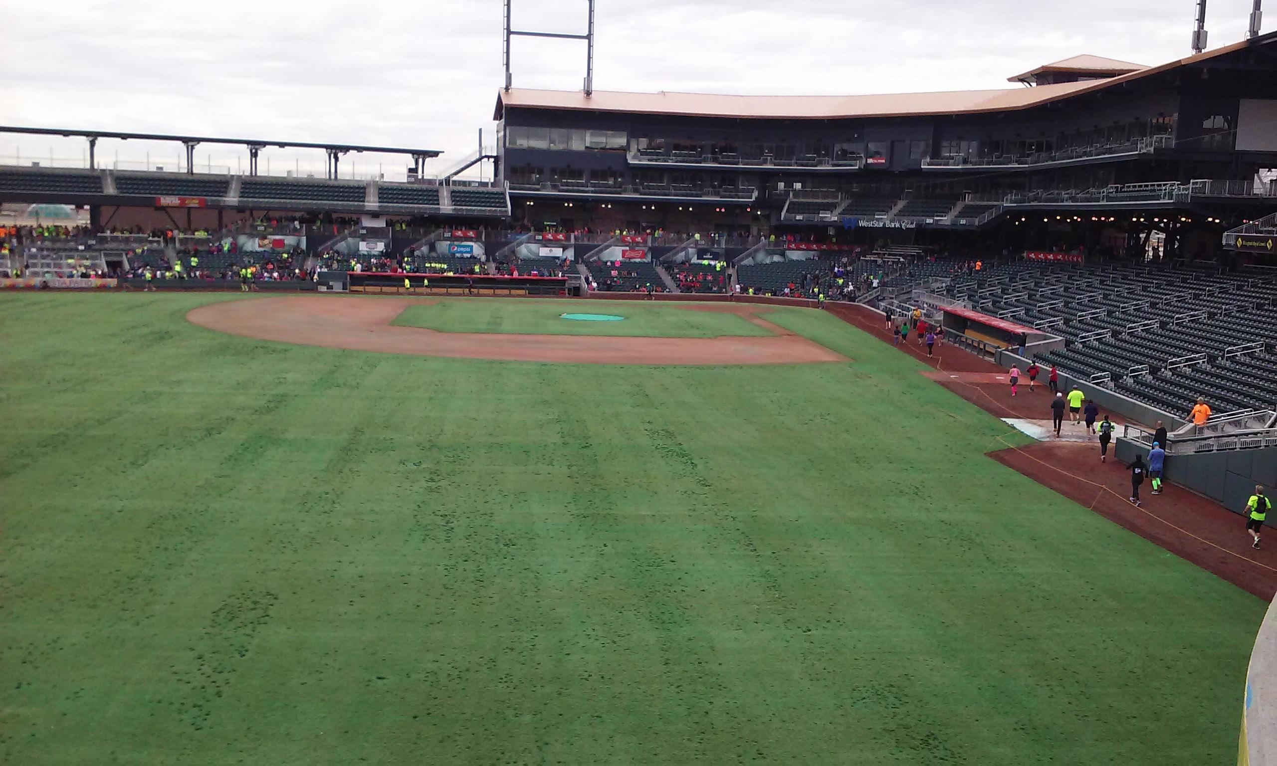 The ballpark in El Paso