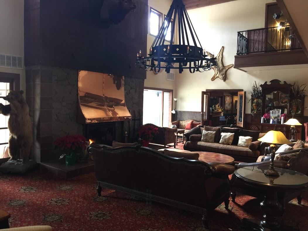 The Lodge at Cloudcroft. Ski Cloudcroft is nearby. Rebecca's at the Lodge has a great
