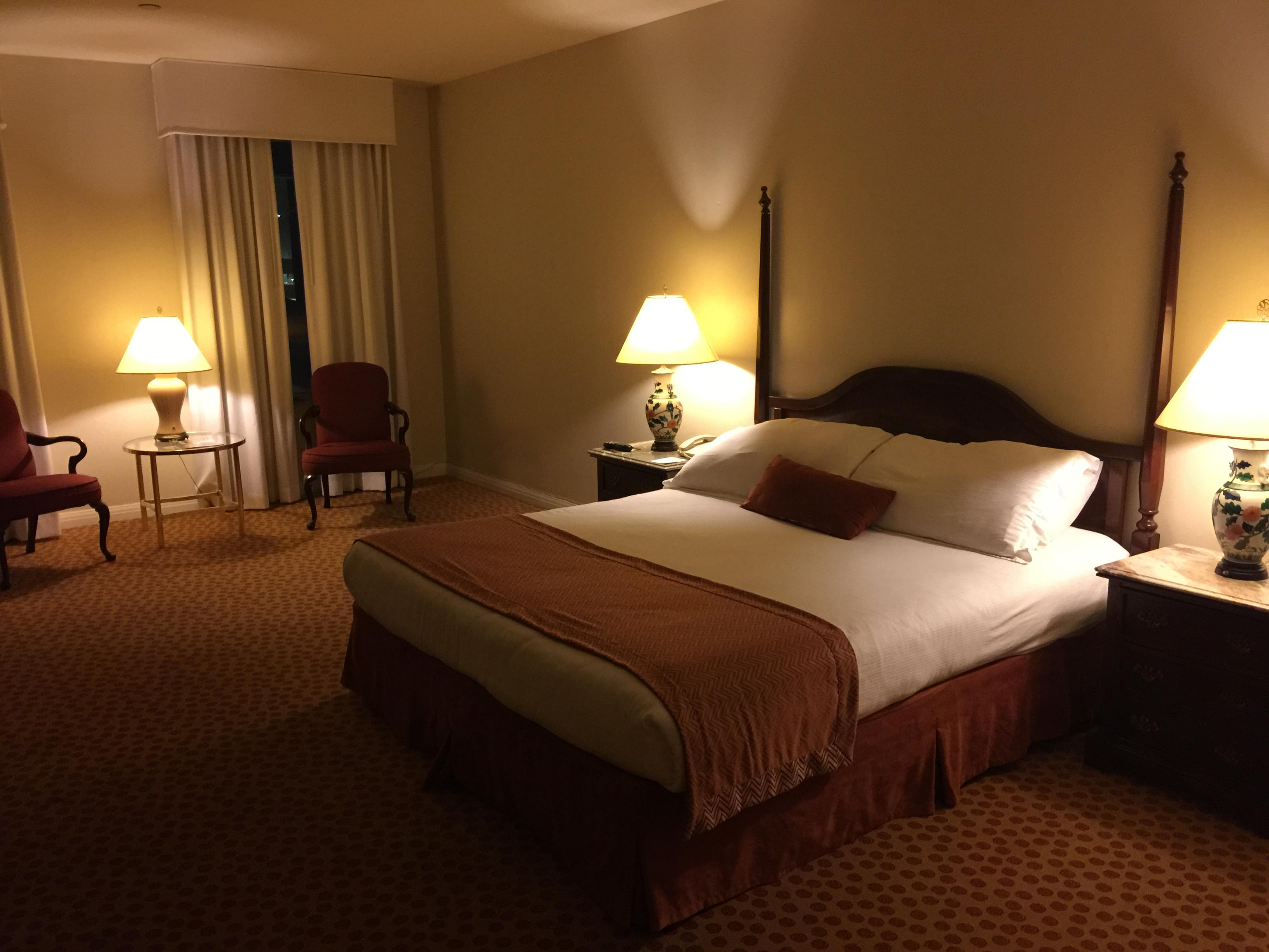Camino Real Hotel El Paso upgraded rooms with flat screen televisions and large beds for l
