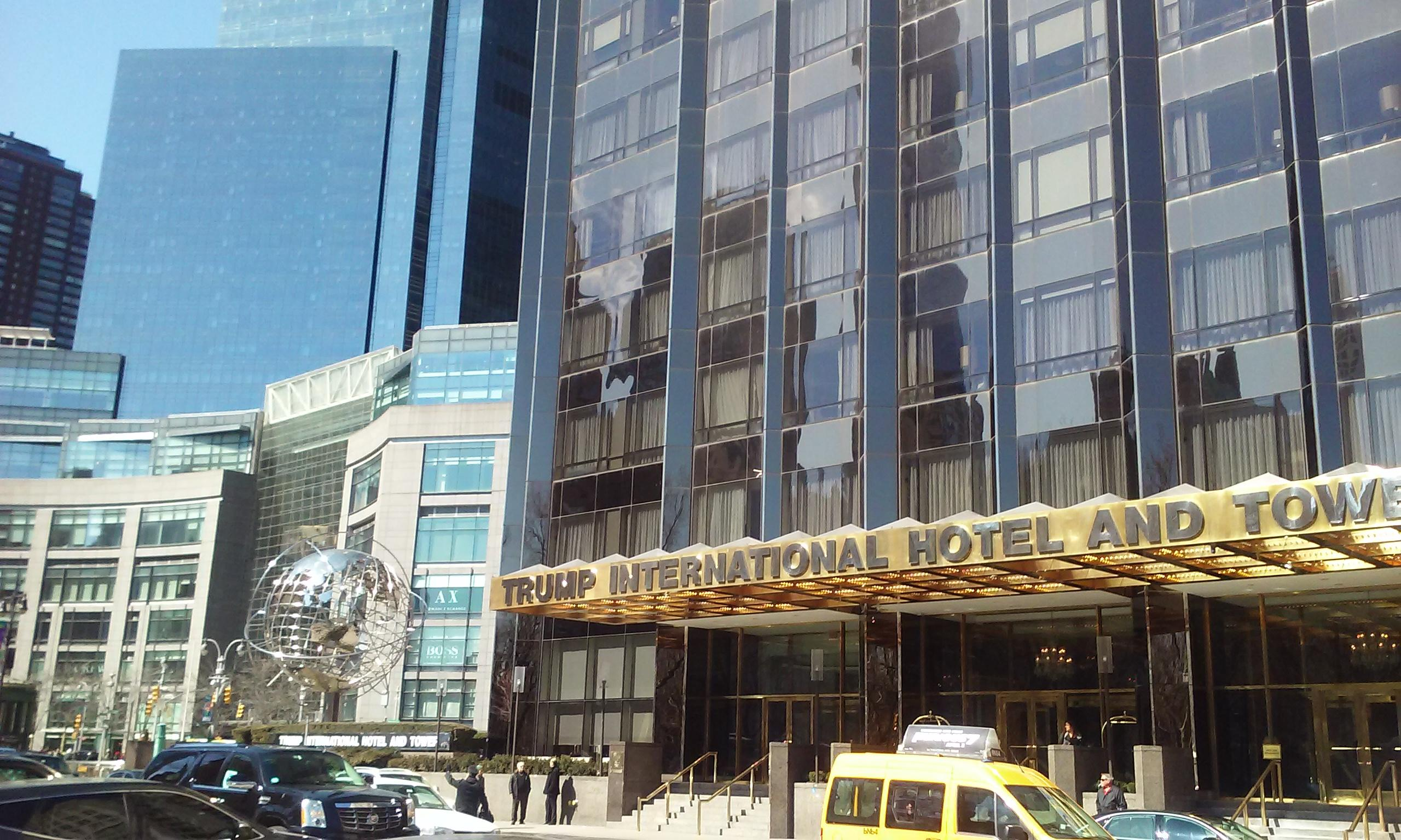 Trump International Hotel near Columbus Circle. Jean George is on the first floor. Lunch s