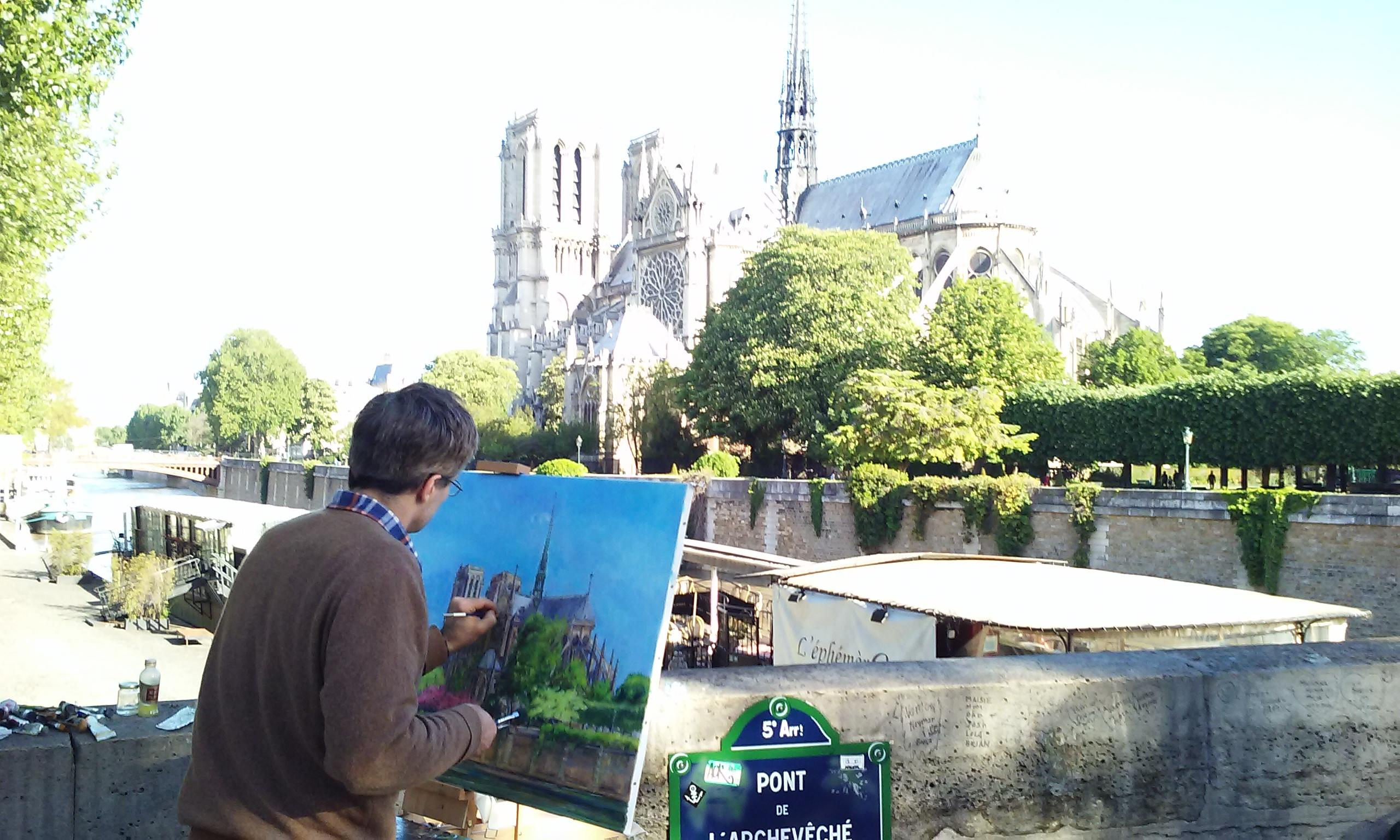 Painting Notre Dame