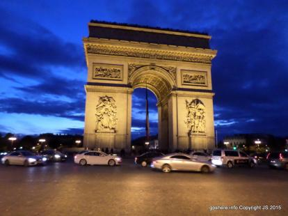 Arc De Triomphe - part of the Museum Pass is access to the top of the Arc for beautiful vi
