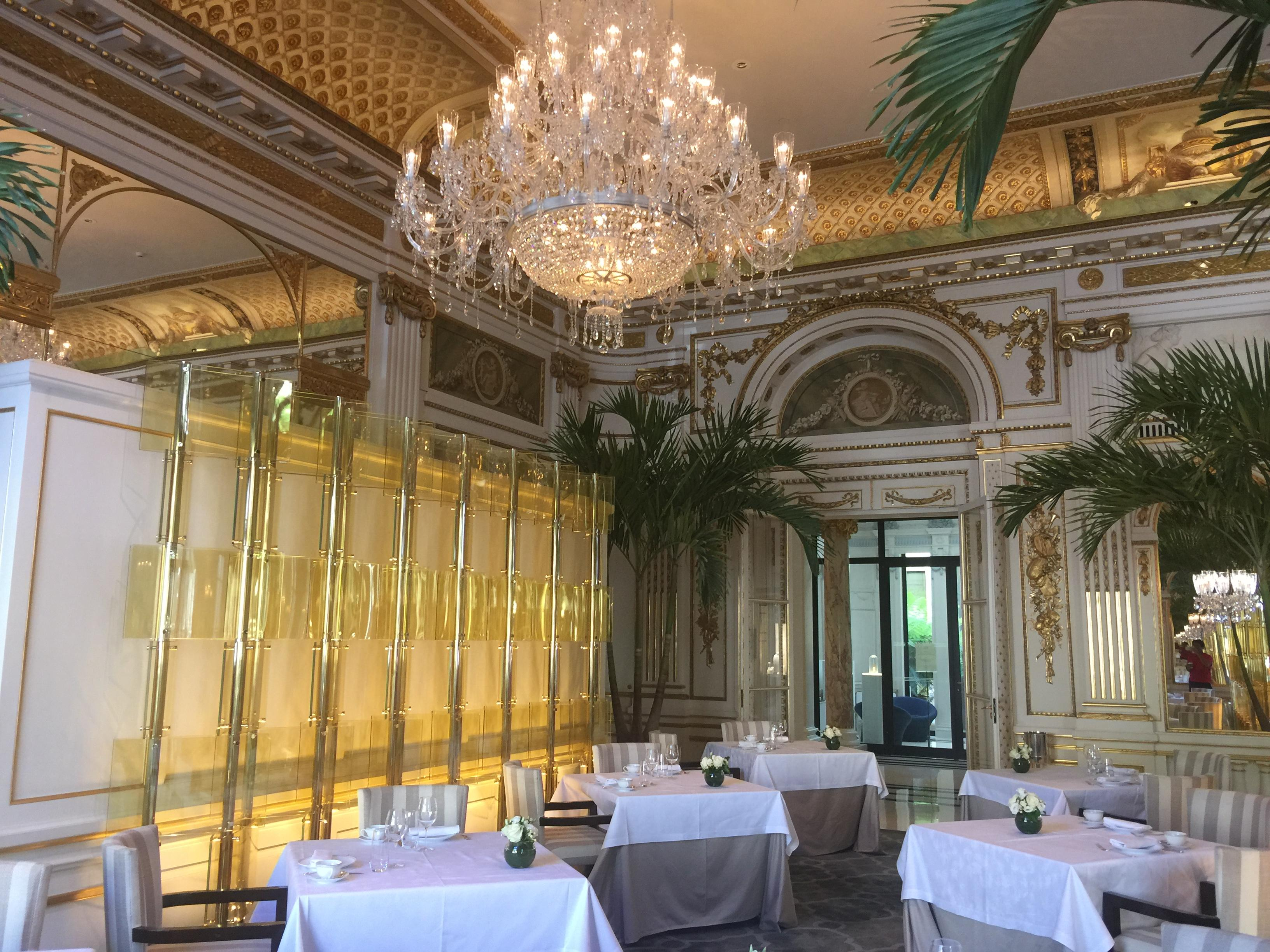Restaurant at the Peninsula Paris