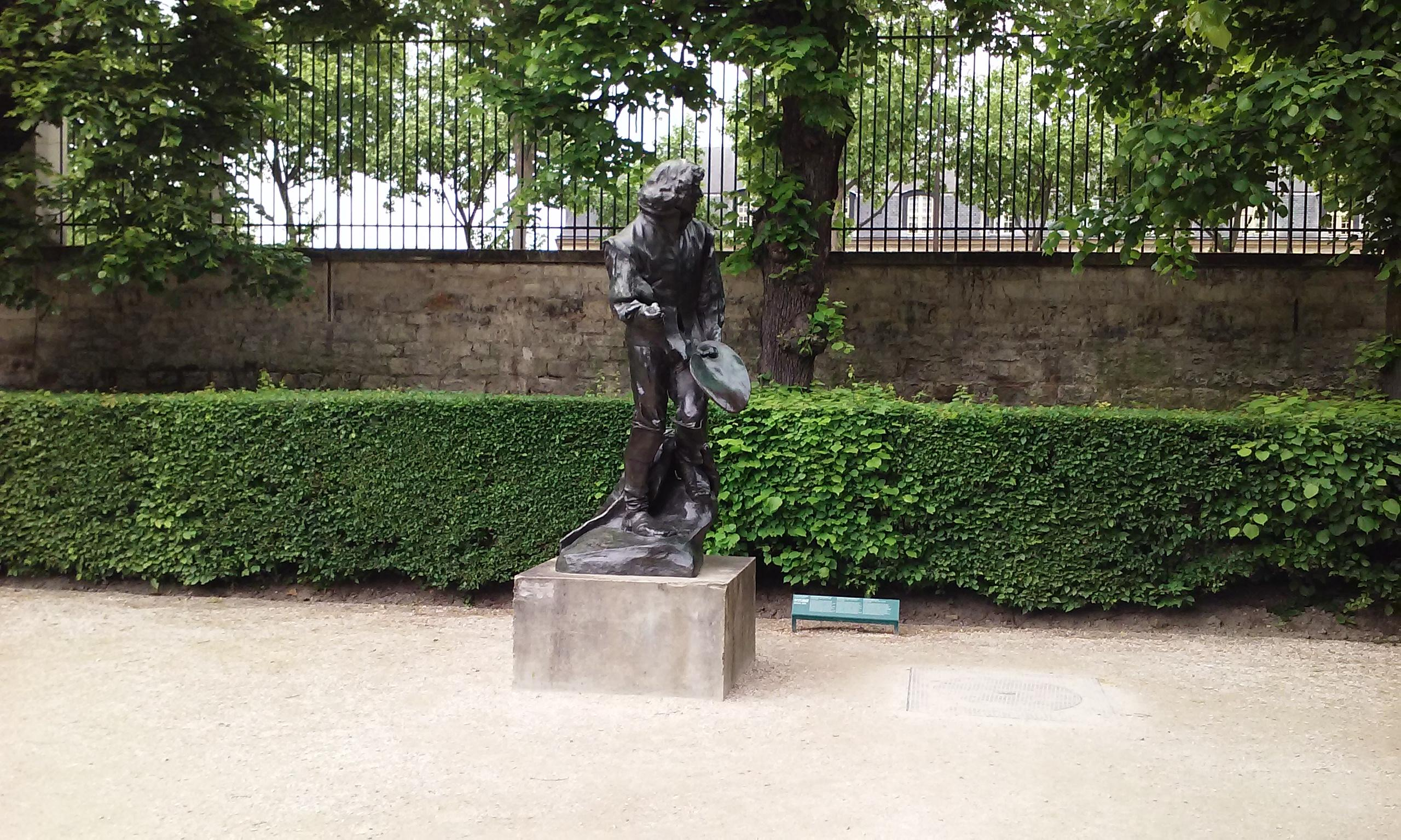 Rodin Museum with multiple outdoor sculptures