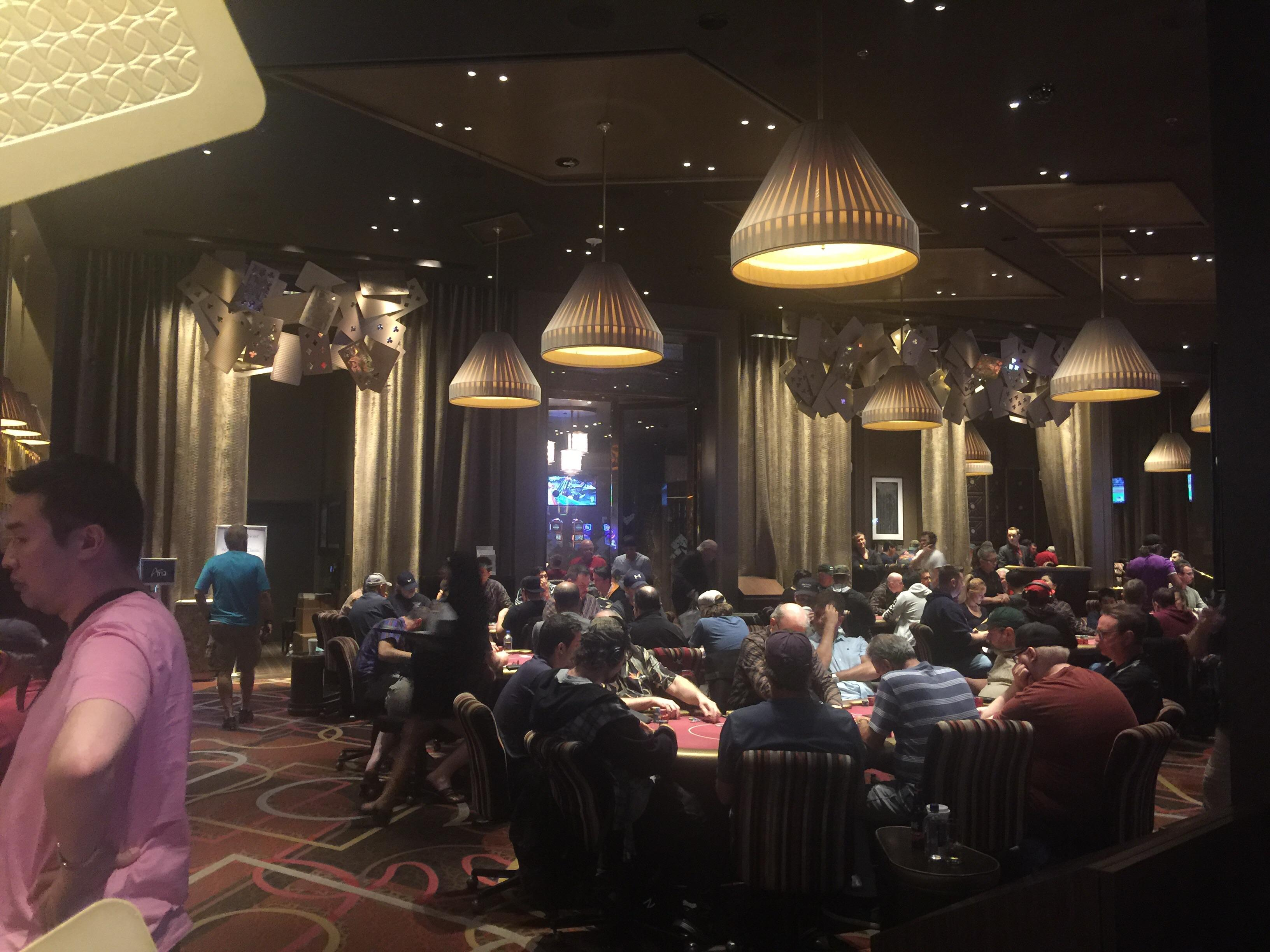Aria Poker Room 2017