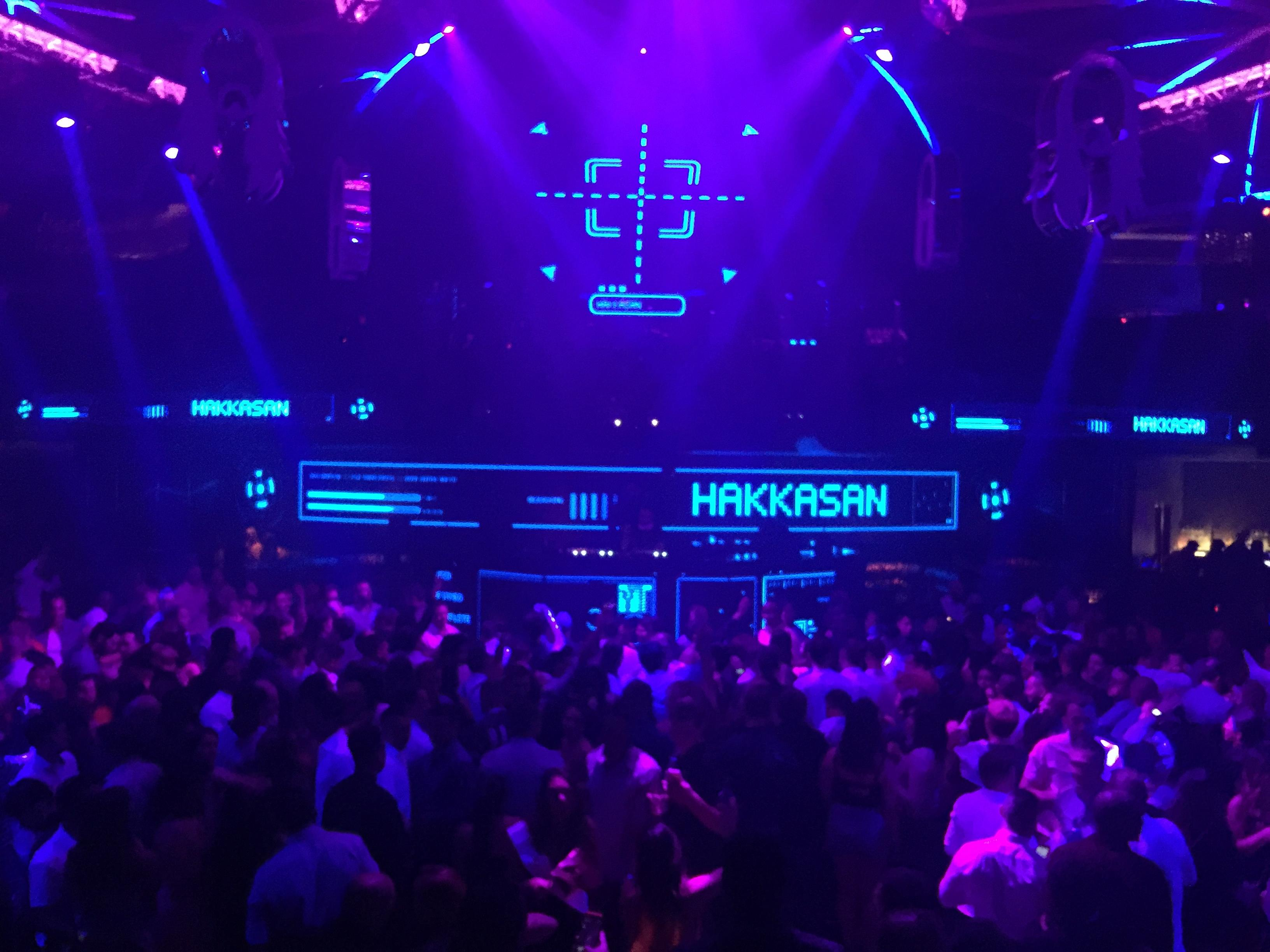 Hakkasan Night Club inside the MGM Grand