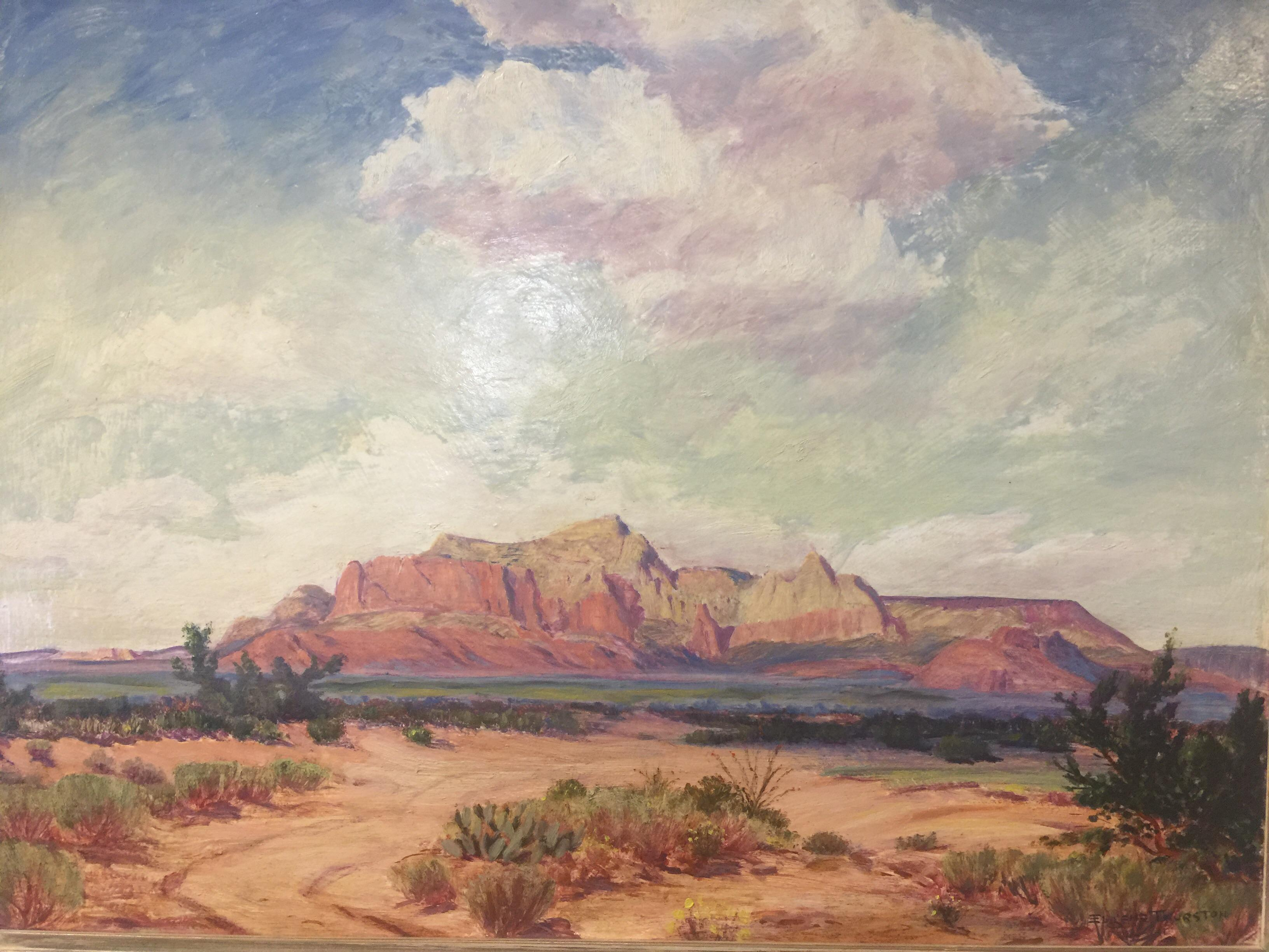 Eugene Thurston Mount Wilson El Paso Museum of Art