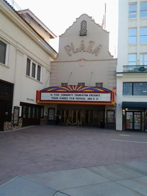 Plaza Theatre El Paso. Shows include beauty and the beast, wicked, and Chicago.