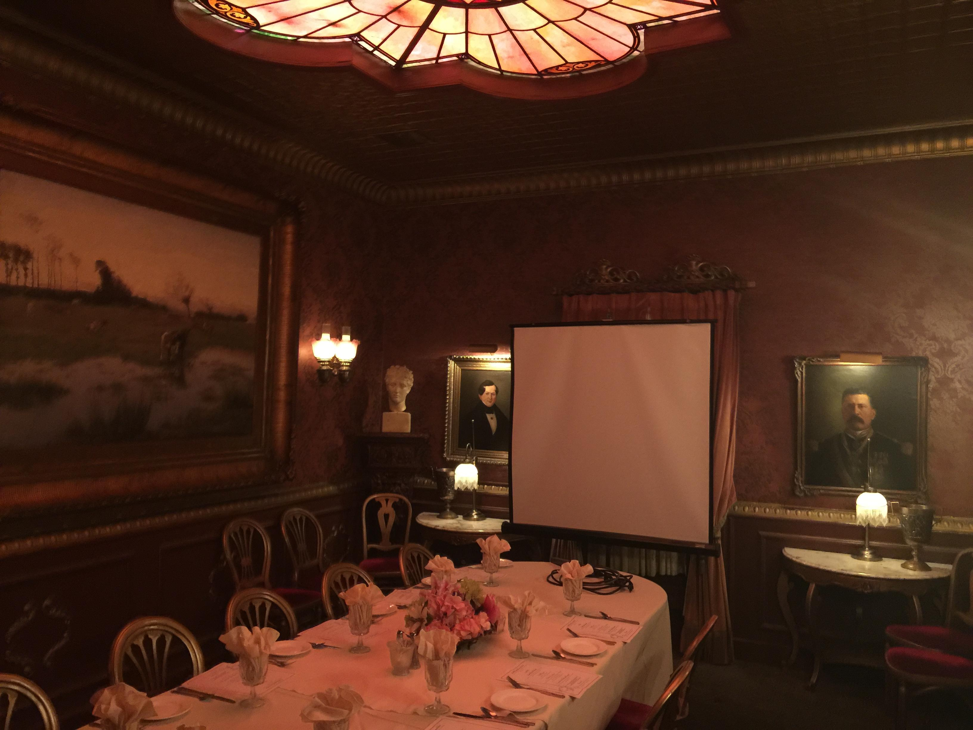OpenNote: Double Eagle private dining room for events