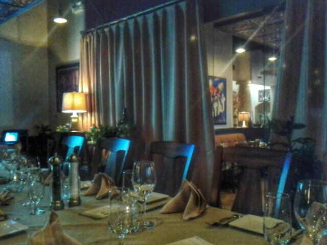 Private dining room at Mesa Street Grill
