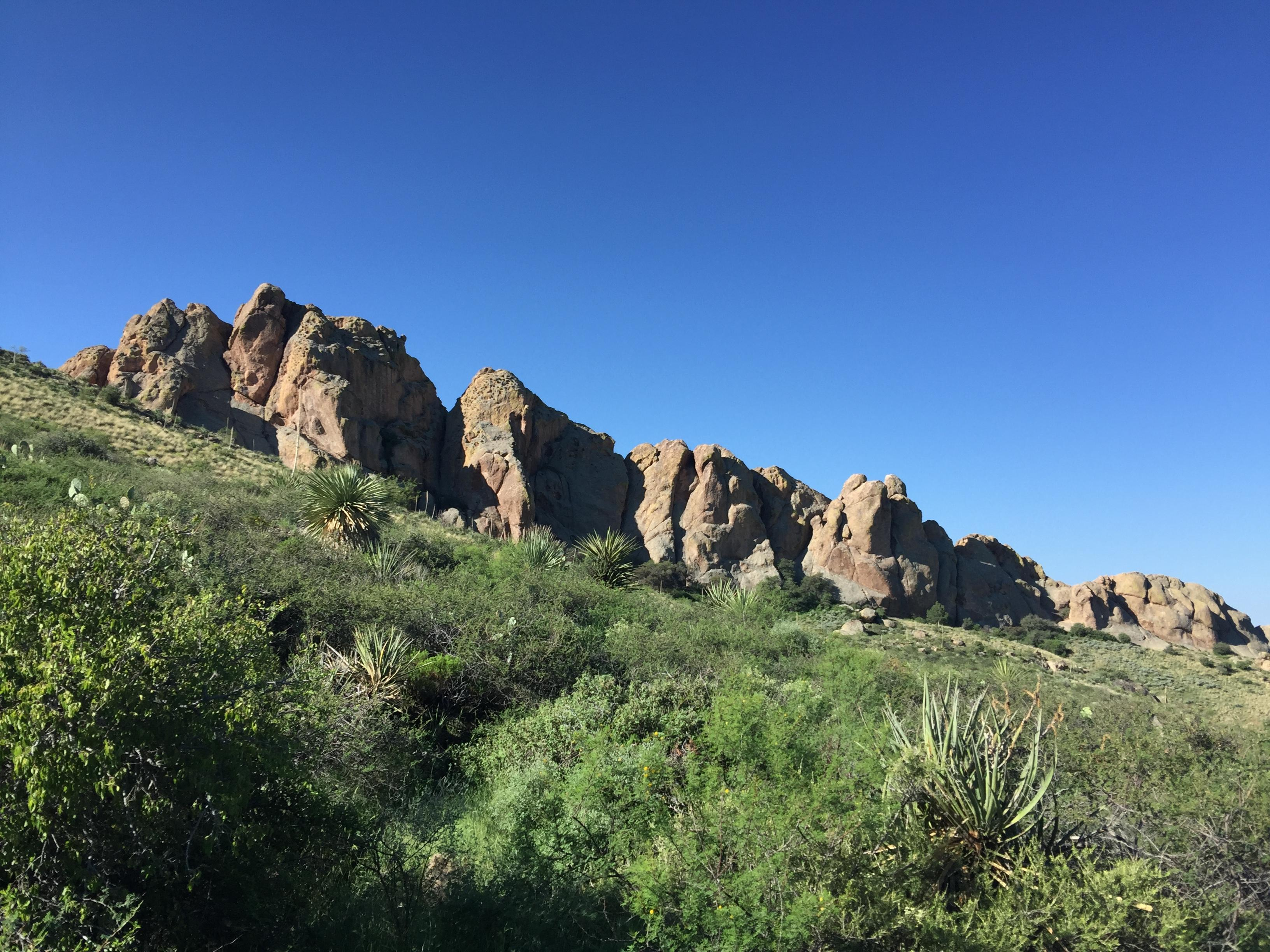 OpenNote: La Cueva Trail hiking Las Cruces