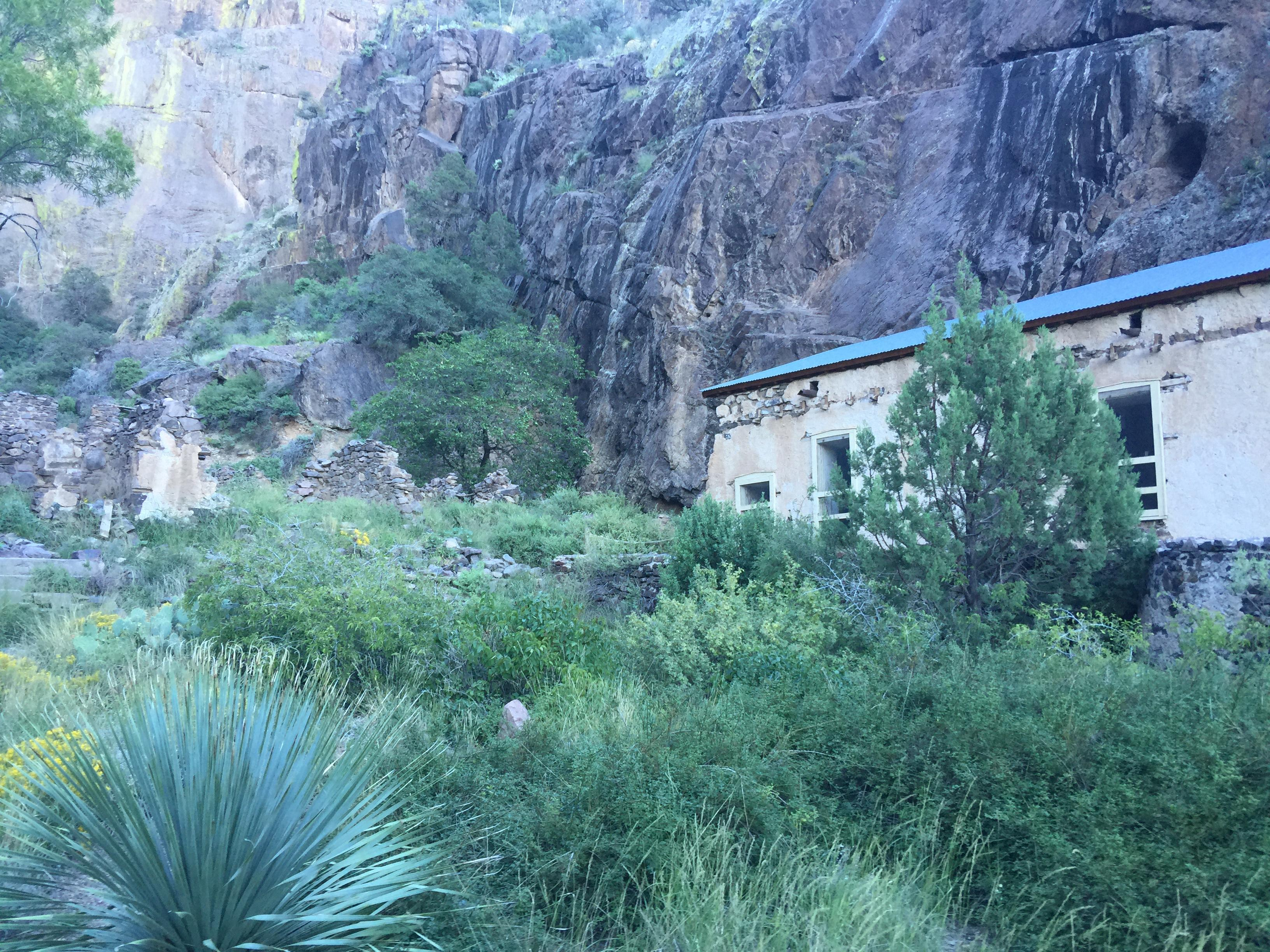 Van Patten's Mountain Camp near Dripping Springs