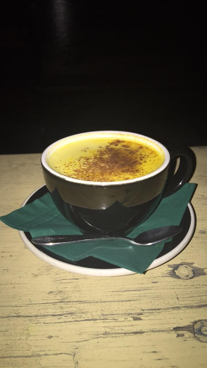 Golden Boy turmeric tea at Eloise excellent #food