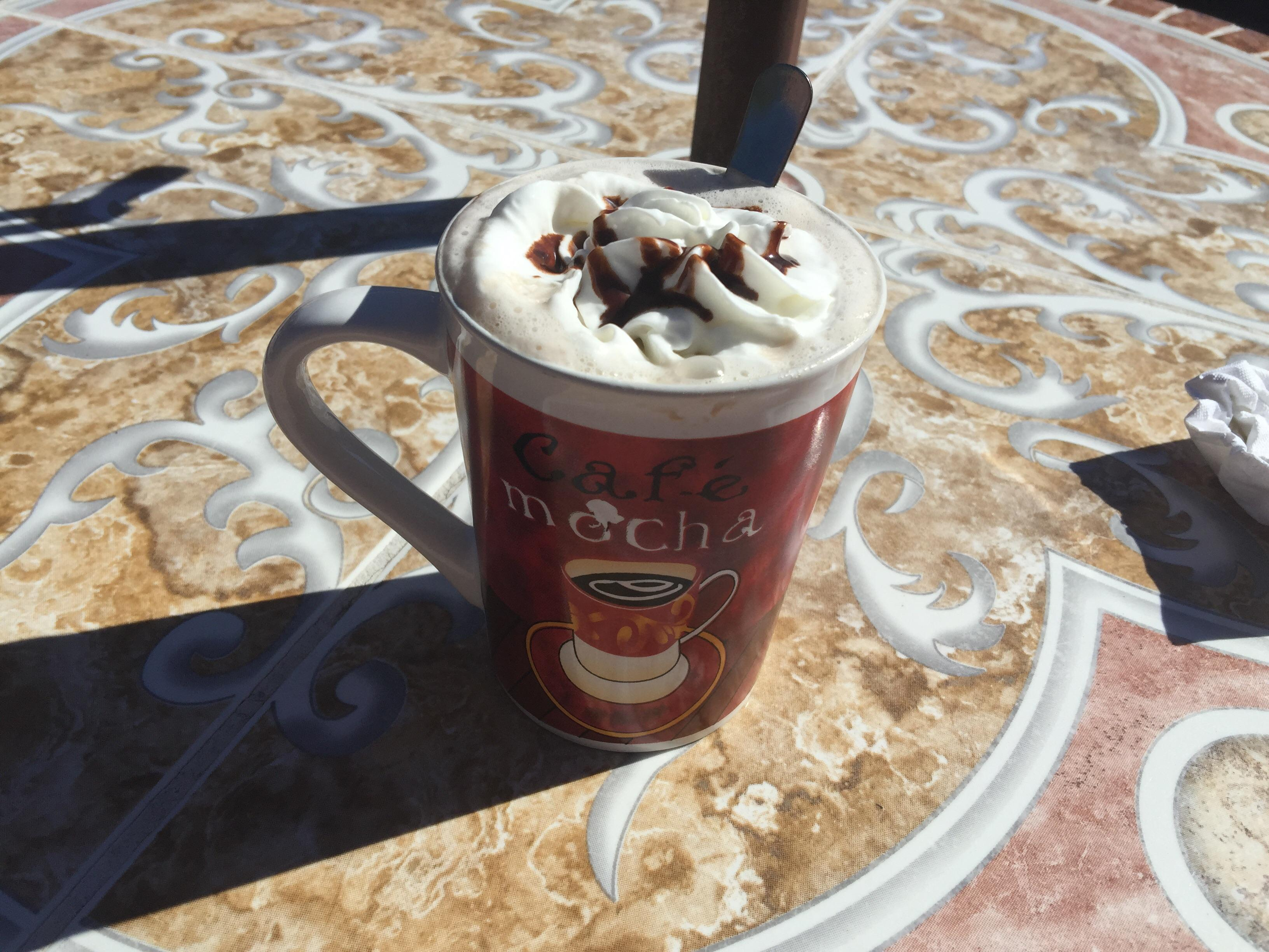 Excellent hot chocolate at the cafe de Mesila #food