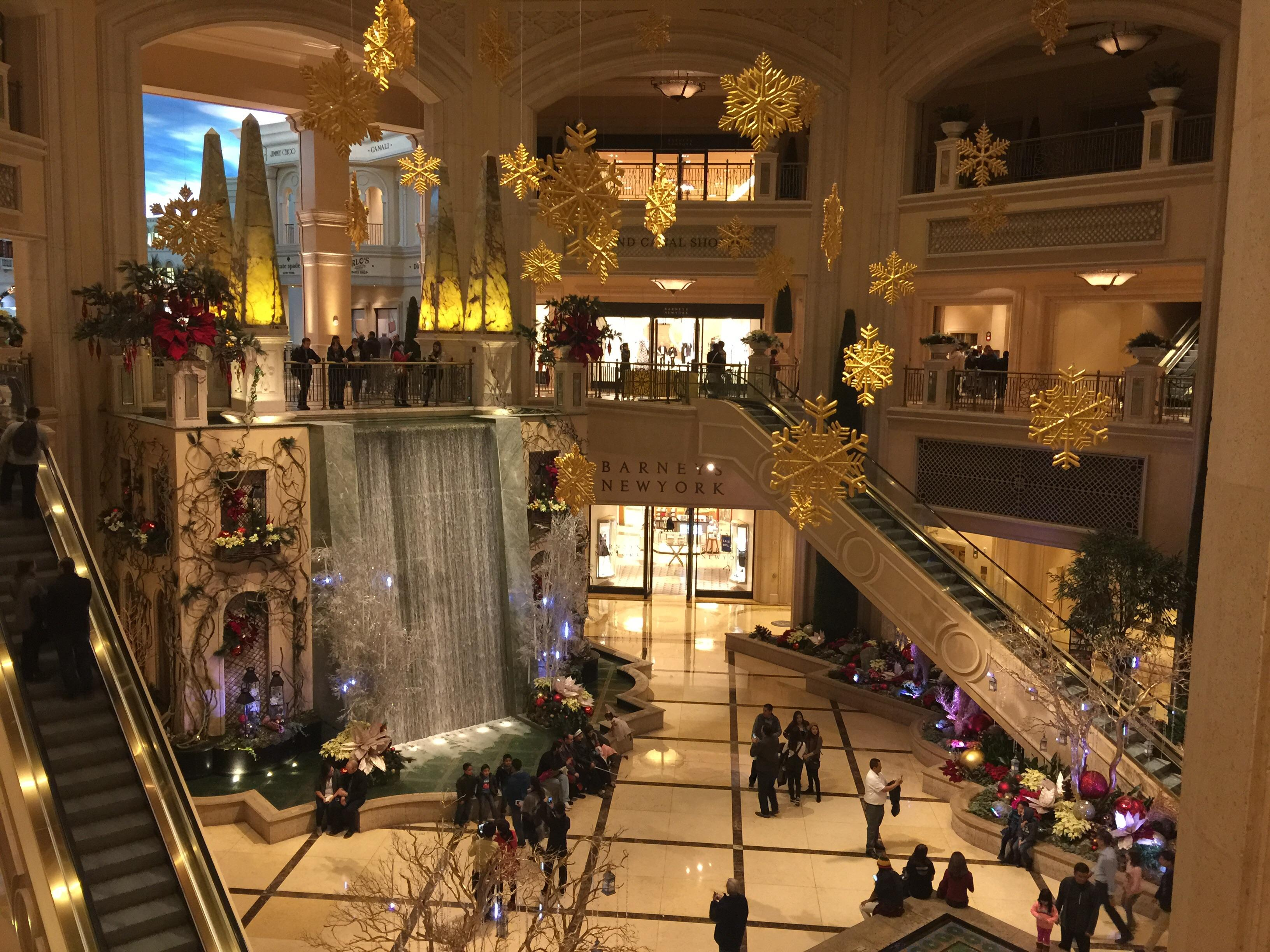 Grand Canal Shops at the Venetian 2015 Las Vegas