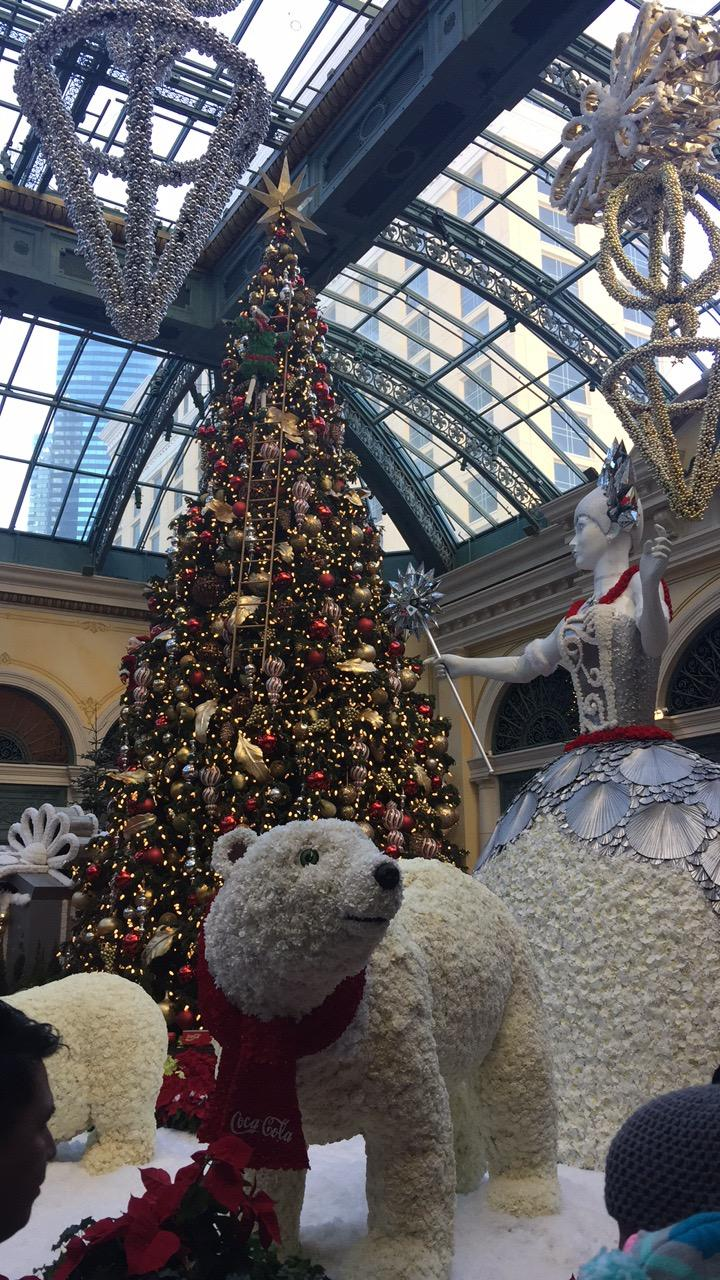 Bellagio Christmas Tree 2017