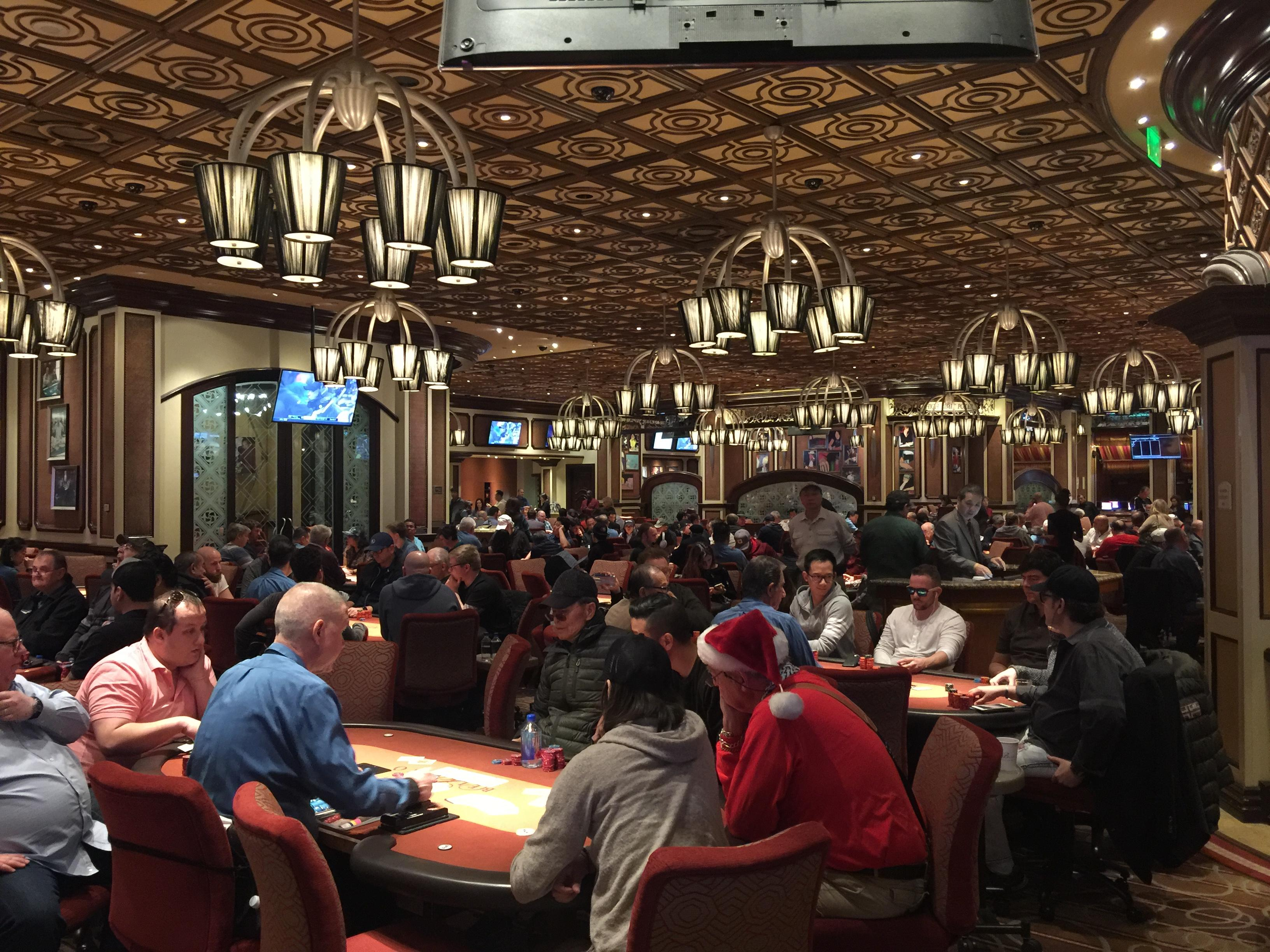 Bellagio Poker Room 2017 2-5 and high limit poker